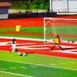 Girls Soccer JV wins 1-0 at Princeton