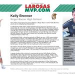 Kelly Brenner '20 named LaRosa's MVP Featured Athlete
