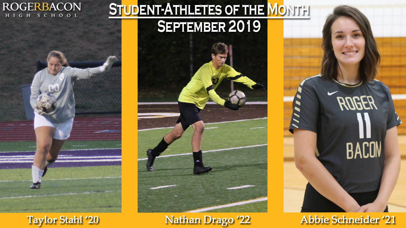 September Student-Athletes of the Month