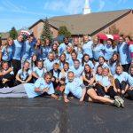 Girls Soccer volunteer at TOP Soccer Fall Classic