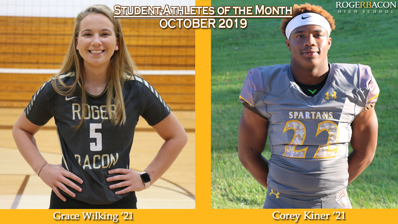 October Student-Athletes of the Month