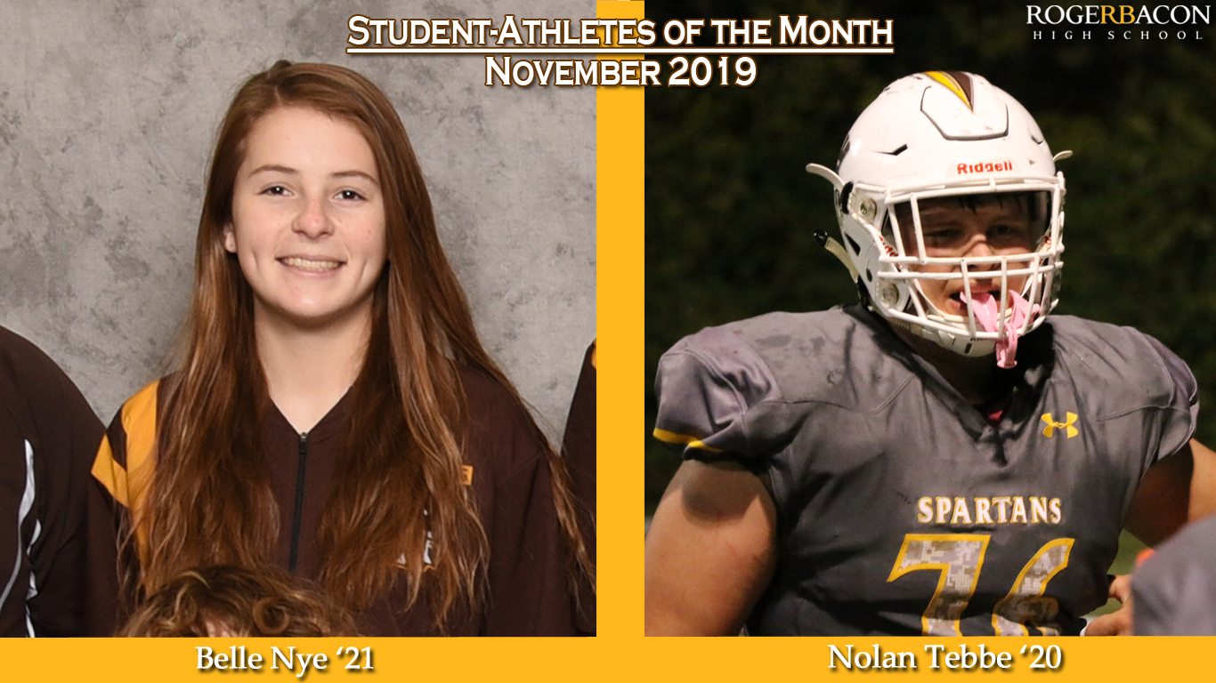 November Student-Athletes of the Month