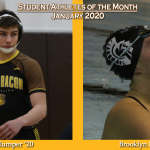 January Student-Athletes of the Month