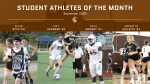 Student-Athletes of the Month: September