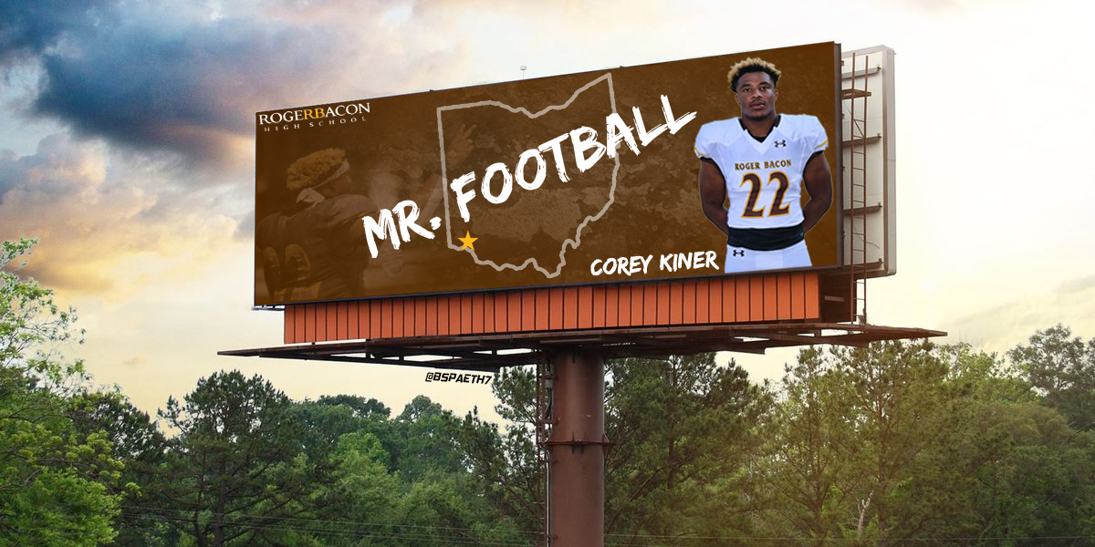 Corey Kiner '21 named Ohio Mr. Football!