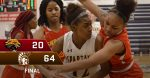 Girls Varsity Basketball beats Shroder 64 – 20
