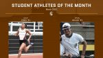 Student Athletes of the Month: March