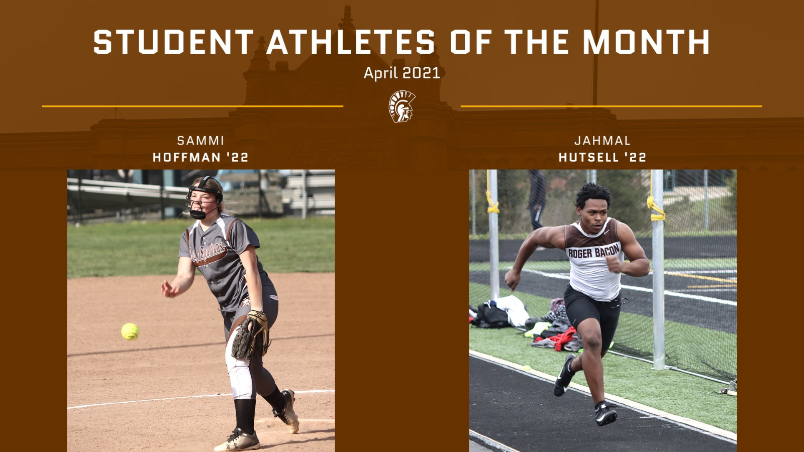 Student Athletes of the Month: April
