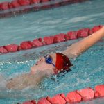 Grove City High School Boys Varsity Swimming falls to Reynoldsburg High School 77-58