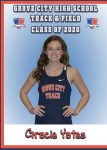 ~Class of 2020~ Gracie Yates~Track