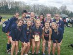 Girls Varsity Track finishes 3rd place at Big Walnut High School
