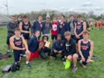 Boys Varsity Track finishes 3rd place at Big Walnut High School