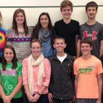 2014 Fall HHC All- Academic Team