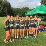 Yorktown XC Girls bring home County Challenge Title