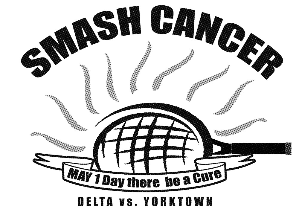 Smash Cancer Tee-shirts available for Pre-Order through 4/27