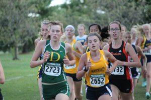 Varsity Girls Cross Country MSU Elite Invitational Race