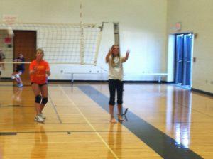 Varsity Team Visits Middle Schools