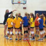 Varsity Girls Visit Middle Schools