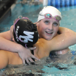 Hudsonville Swim takes 7th place in State behind Danielle Freeman's 2 State Championships