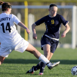 Hudsonville Soccer vs. South Christian at Holland Christian on Wednesday April 2