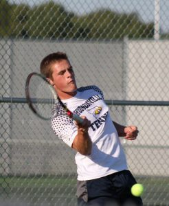 Boys Varsity Tennis ties with Rockford 4-4
