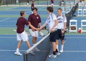 Boys Varsity  Tennis ties #1 Grandville