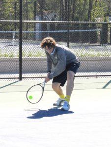 Boys Varsity Tennis def Mona Shores
