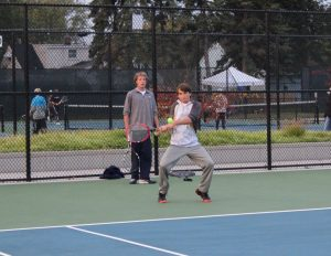 Boys Varsity Tennis Regionals @ Holland