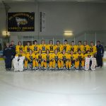 Hudsonville High School Boys Varsity Hockey falls to Caledonia High School/Lowell High School 1-5