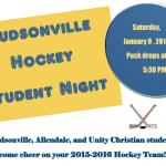 Hudsonville Hockey Student Night