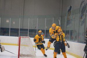 Varsity Hockey v. Jenison (Student Night) 2016
