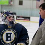 Hudsonville High School Boys Varsity Hockey beat GR Flames 10-2