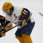 Hudsonville High School Boys Varsity Hockey falls to Alliance 3-4