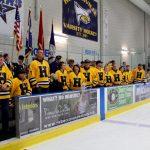 Hudsonville High School Boys Varsity Hockey falls to West Catholic High School 2-7