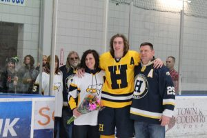 Varsity Hockey Senior Night 2/26/16