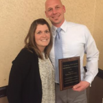 Casey Glass Receives Coach of the Year Honors
