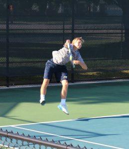 Varsity Tennis Hang Time