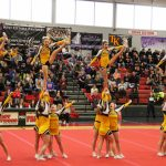 Competitive Cheer Competes in Districts on Friday at Caledonia