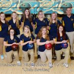 Hudsonville High School Girls Varsity Bowling falls to Caledonia High School 22-8