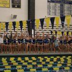 Hudsonville High School Girls Varsity Swimming finishes 1st place