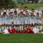 Hudsonville High School Boys Freshman Soccer beat Grand Rapids Christian High School 6-0