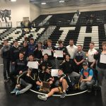 Coed Varsity Wrestling finishes 1st place at Conference Tournament – Varsity