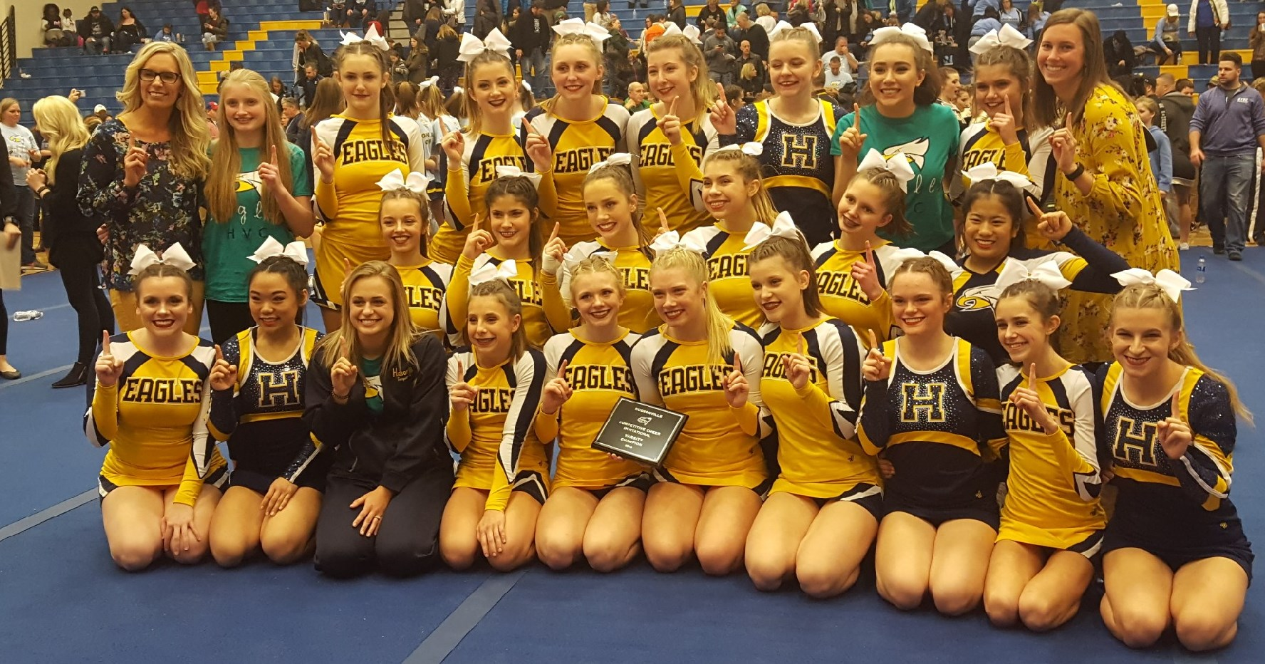 Competitive Cheer Competes in District Competition This Saturday