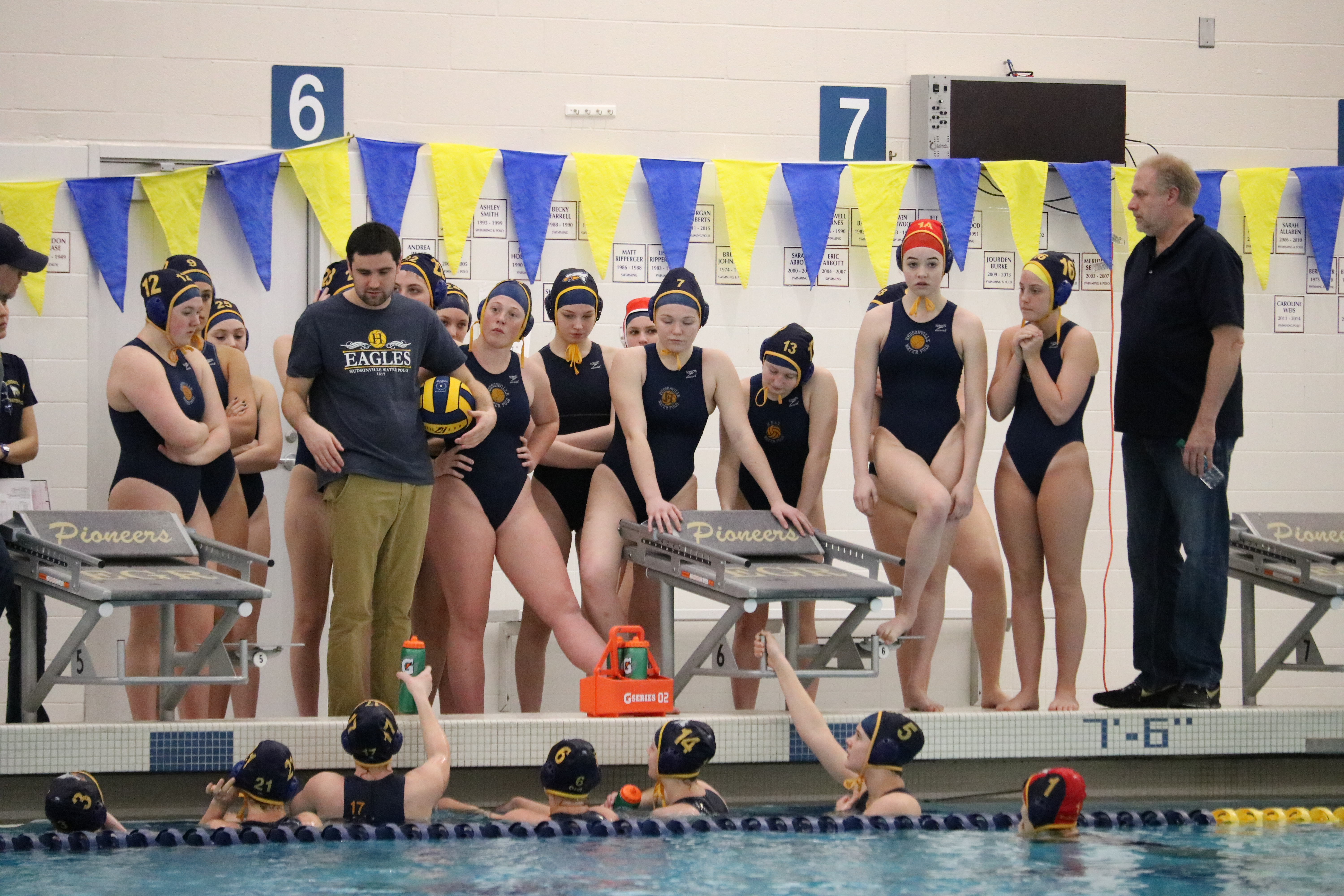 Girl's Water Polo Team Starts Year 4-0