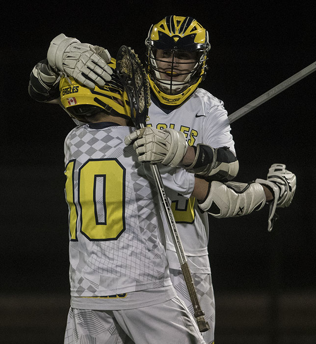 Boy's Lacrosse Start Season with a 13-5 Win Over Spring Lake