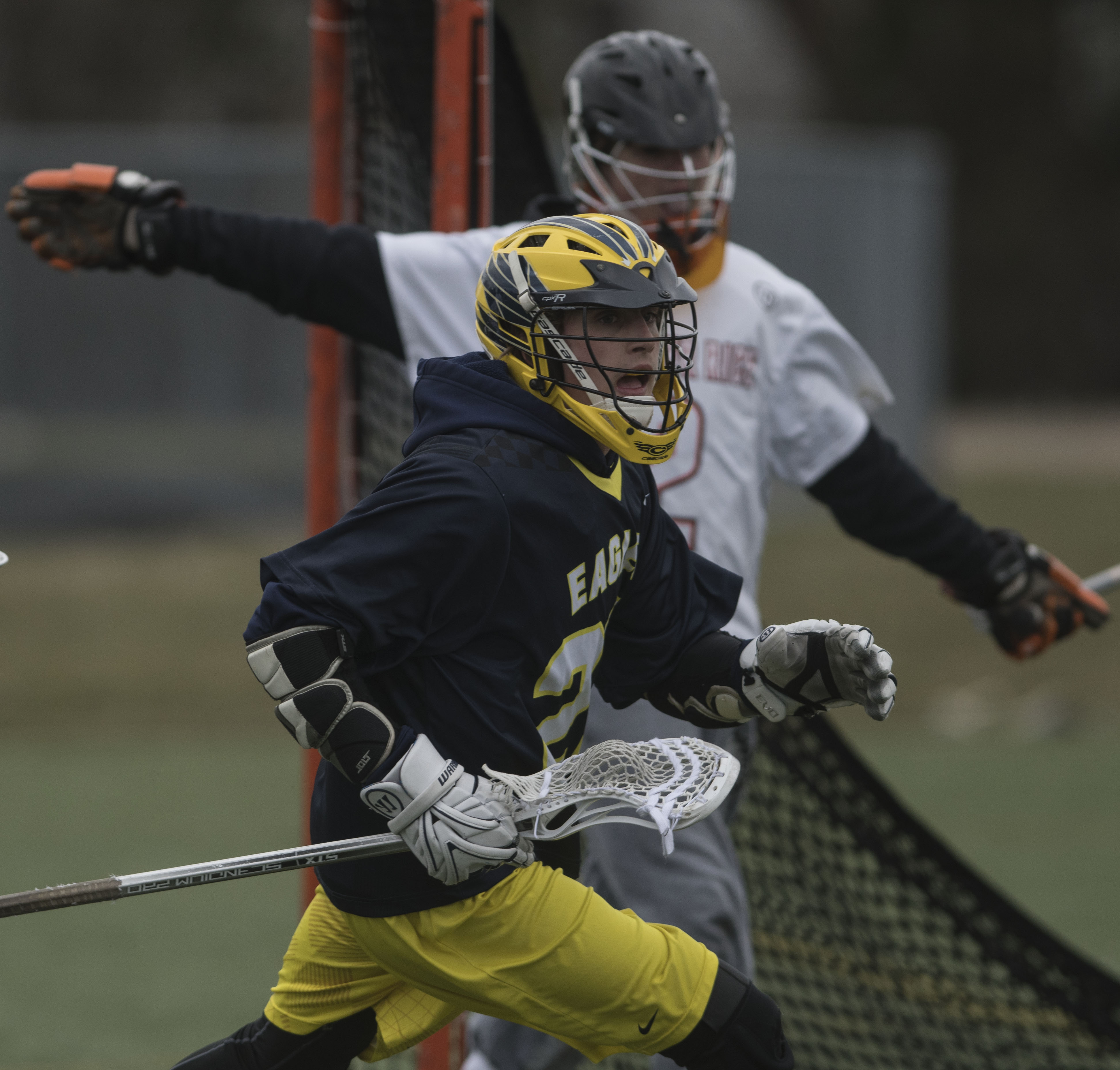 Boys Varsity Lacrosse Defeats Brother Rice Orange