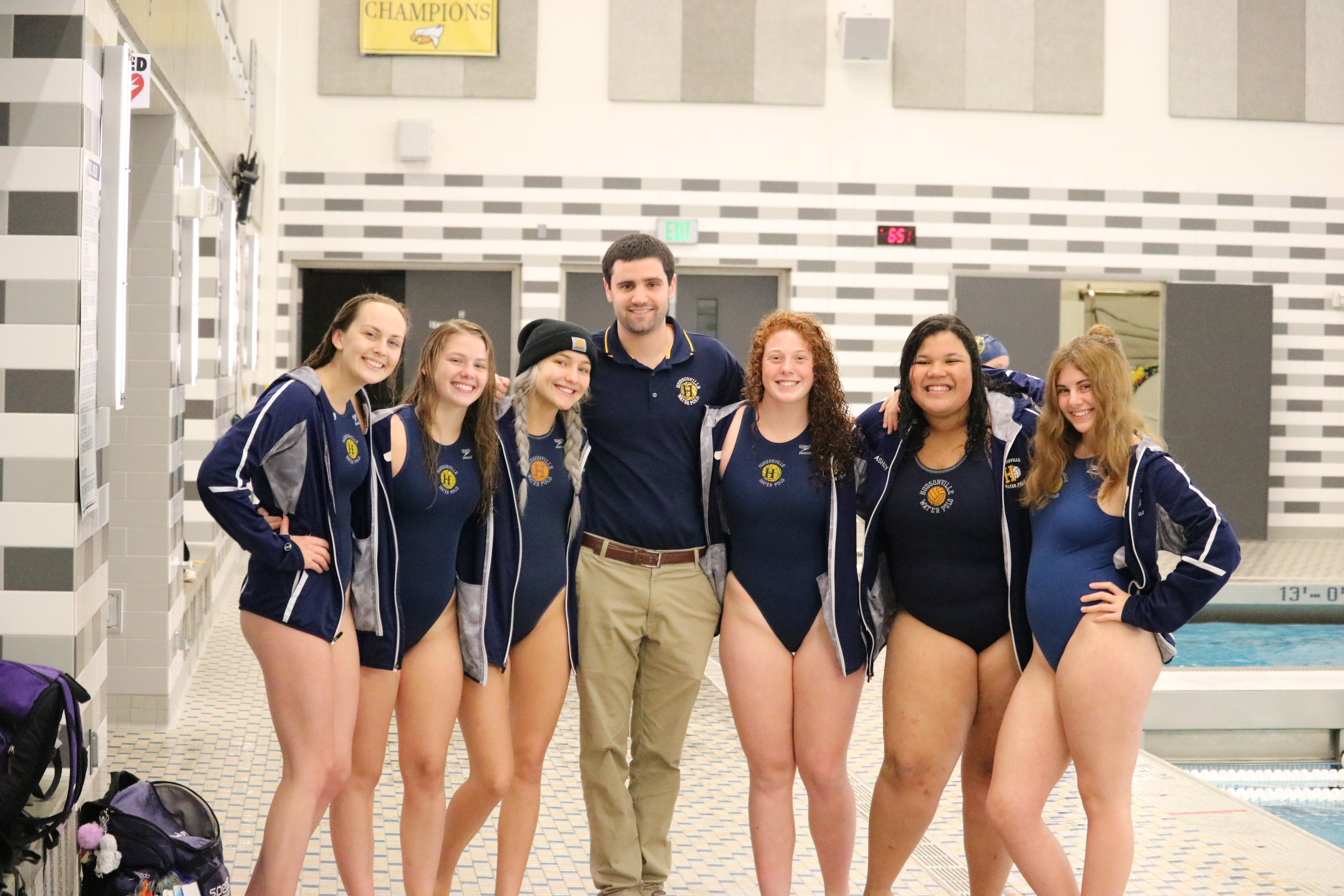 Girl's Water Polo Wins 5th Consecutive Conference Championship