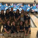 Girls Varsity Bowling finishes 1st place at Cedar Springs Invite