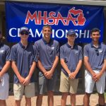 Boys Varsity Golf finishes 13th place at MHSAA State Finals