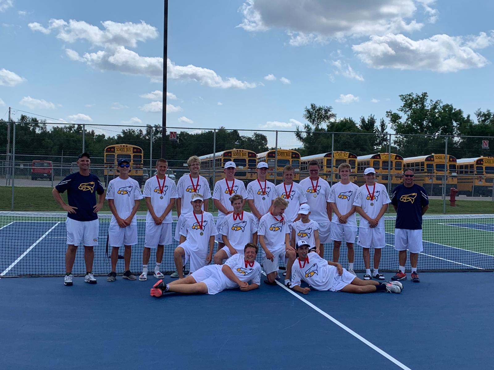 Varsity Boys Tennis Sweeps Northview Invitational